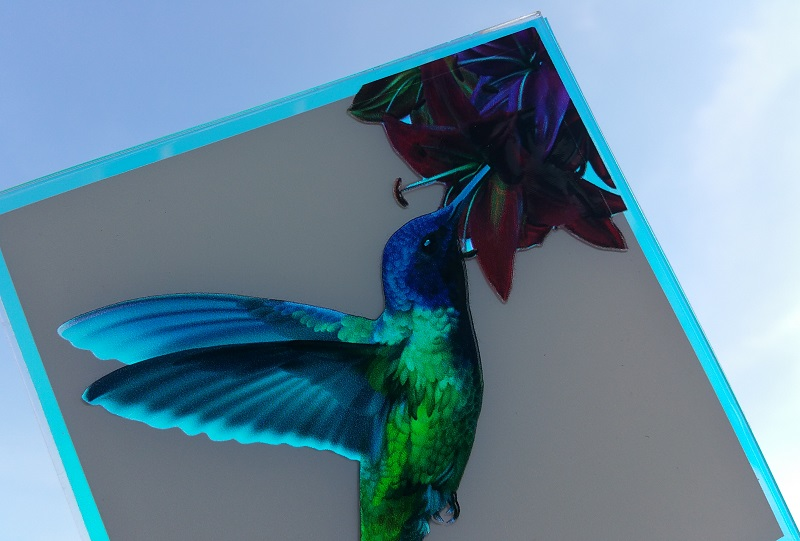 Image of Luminous Concepts Hummingbird Symbol